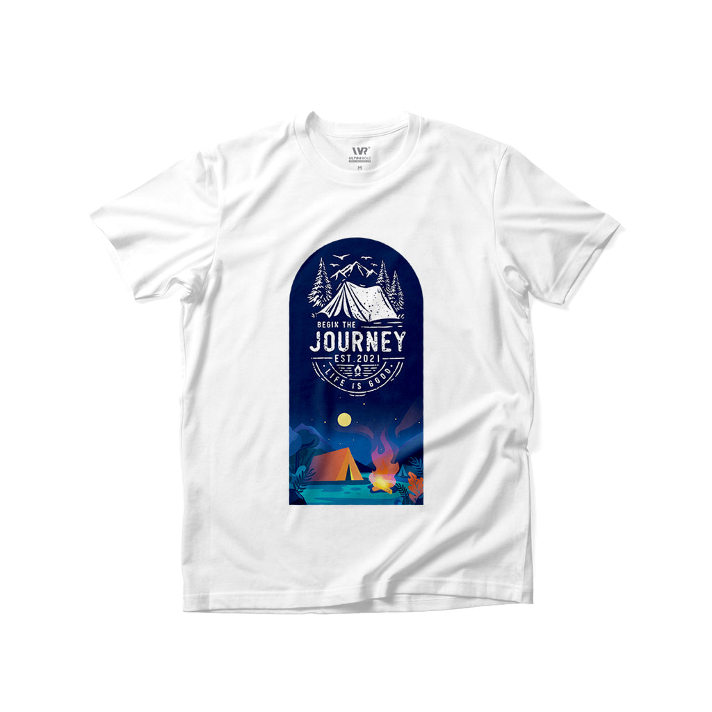 [Begin The Journey] Premium Graphic Tee