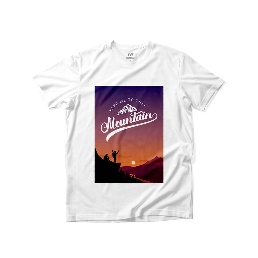 [Take Me To The Mountain] Premium Graphic Tee