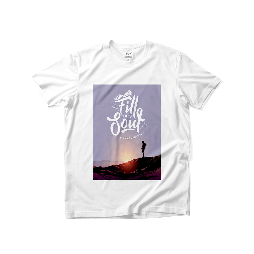 [Fill Your Soul] Premium Graphic Tee