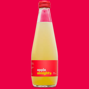 ALMIGHTY BEVERAGES APPLE JUICE 300ML 12 PACK