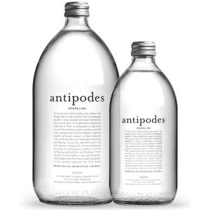ANITOPODES SPARKLING WATER CASE OF 6X 1L BOTTLES