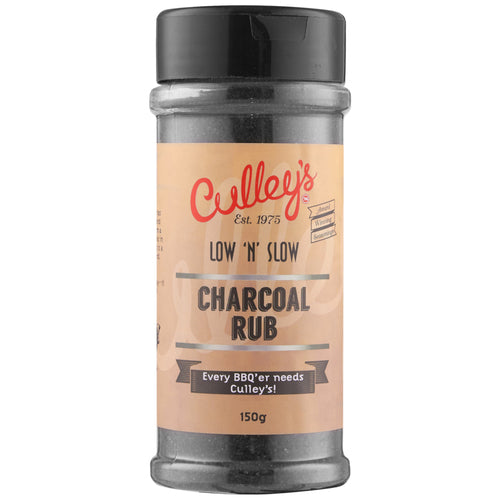 CULLEY'S KING PIN BBQ CHARCOAL BLACK RUB