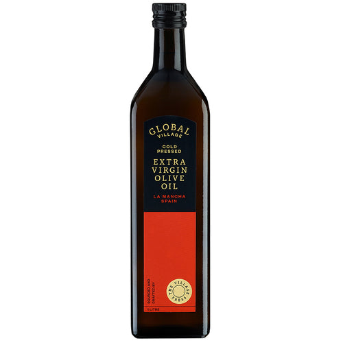 GLOBAL VILLAGE EXTRA VIRGIN OLIVE OIL SPAIN 1 LITRE