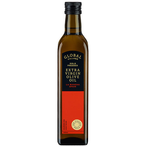 GLOBAL VILLAGE EXTRA VIRGIN OLIVE OIL SPAIN 500ML