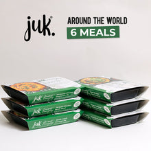 Load image into Gallery viewer, JESS UNDERGROUND KITCHEN AROUND THE WORLD WITH JUK 6 MEALS