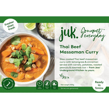 Load image into Gallery viewer, JESS UNDERGROUND KITCHEN CURRY IN A HURRY 6 MEALS
