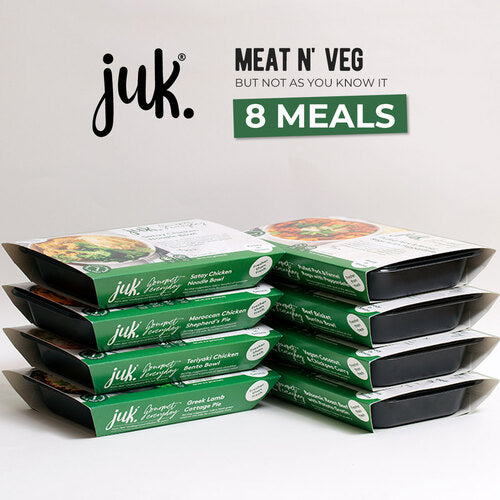 JESS UNDERGROUND KITCHEN MEAT N VEG BUT NOT AS YOU KNOW IT  8 MEALS