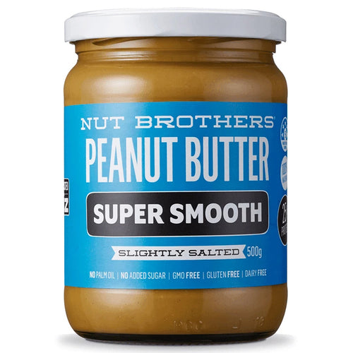 NUT BROTHERS PEANUT BUTTER SUPER SMOOTH (500GM)