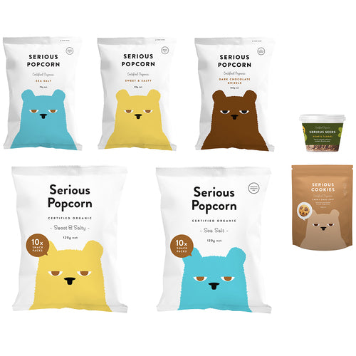 SERIOUS FOOD CO FAMILY PACK