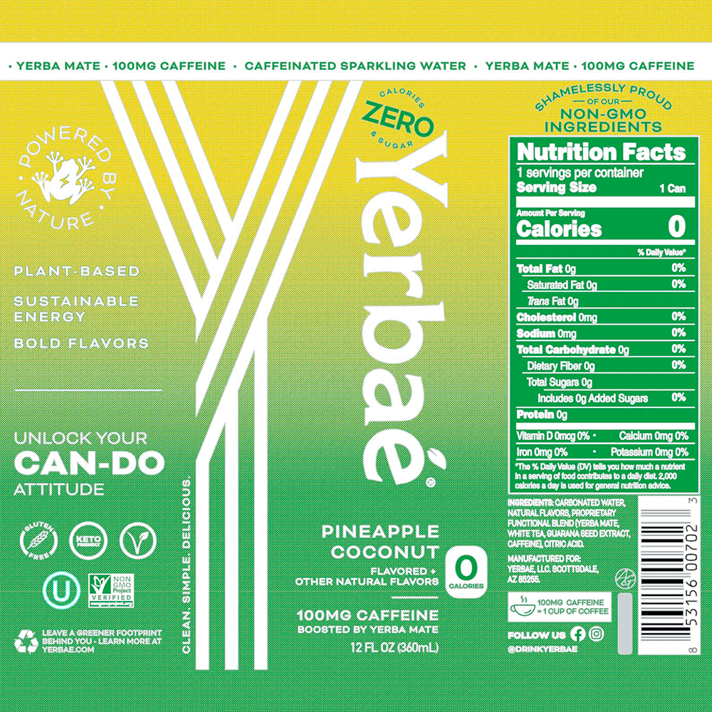 Yerbaé 12oz Variety Tropical Pack
