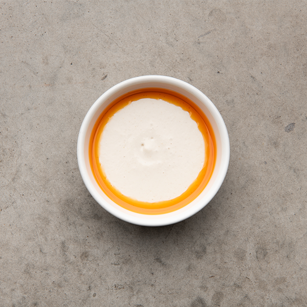 Aged Tahini, Chilli Oil