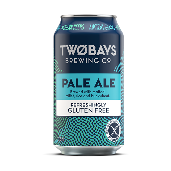Two Bays Brewing Pale Ale (Gluten Free) Mornington VIC - 4 Pack