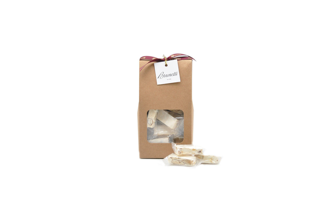 Brunetti Nougat Pieces - Almond 200g