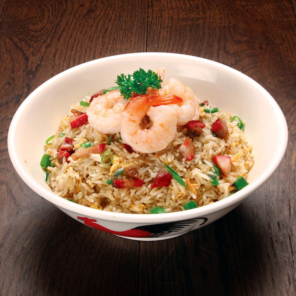 Secret Kitchen BBQ Pork & Prawn Fried Rice (1 Serve)