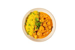 Butter Chicken with Peas and Turmeric Rice - Serves 4