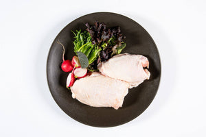 Chicken Thigh Fillets Skin On 1.5Kg