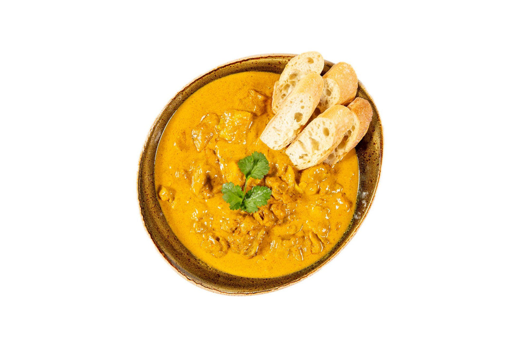 Southern Style Yellow Curry with Crusty Baguette - Serves 4
