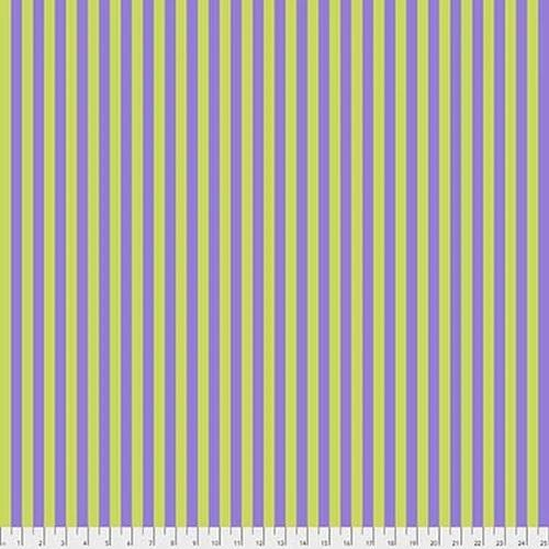 Tent Stripe Purple & Lime gree