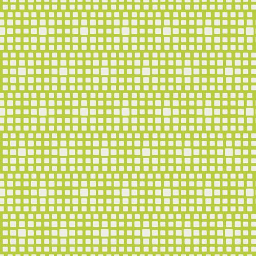 Lime with white squares