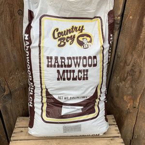 Country Boy Brown Hardwood Mulch
