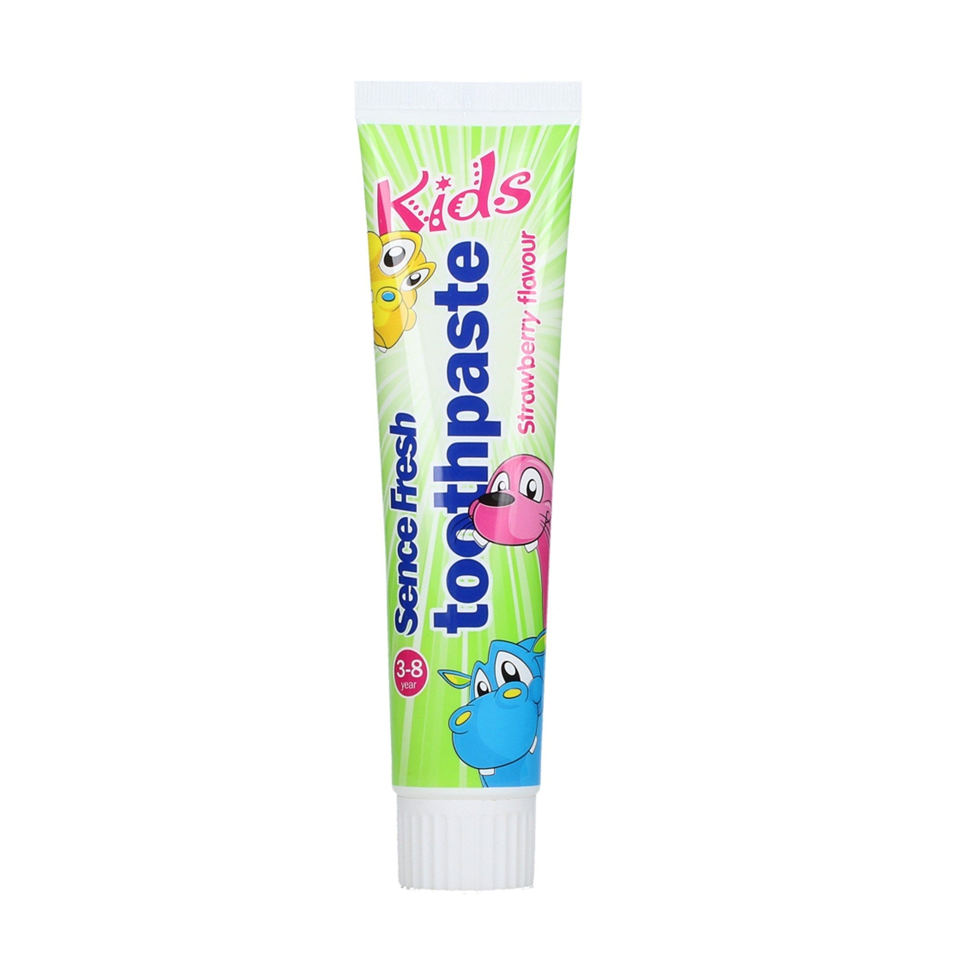 Sencefresh Kids Toothpaste Strawberry 125ml
