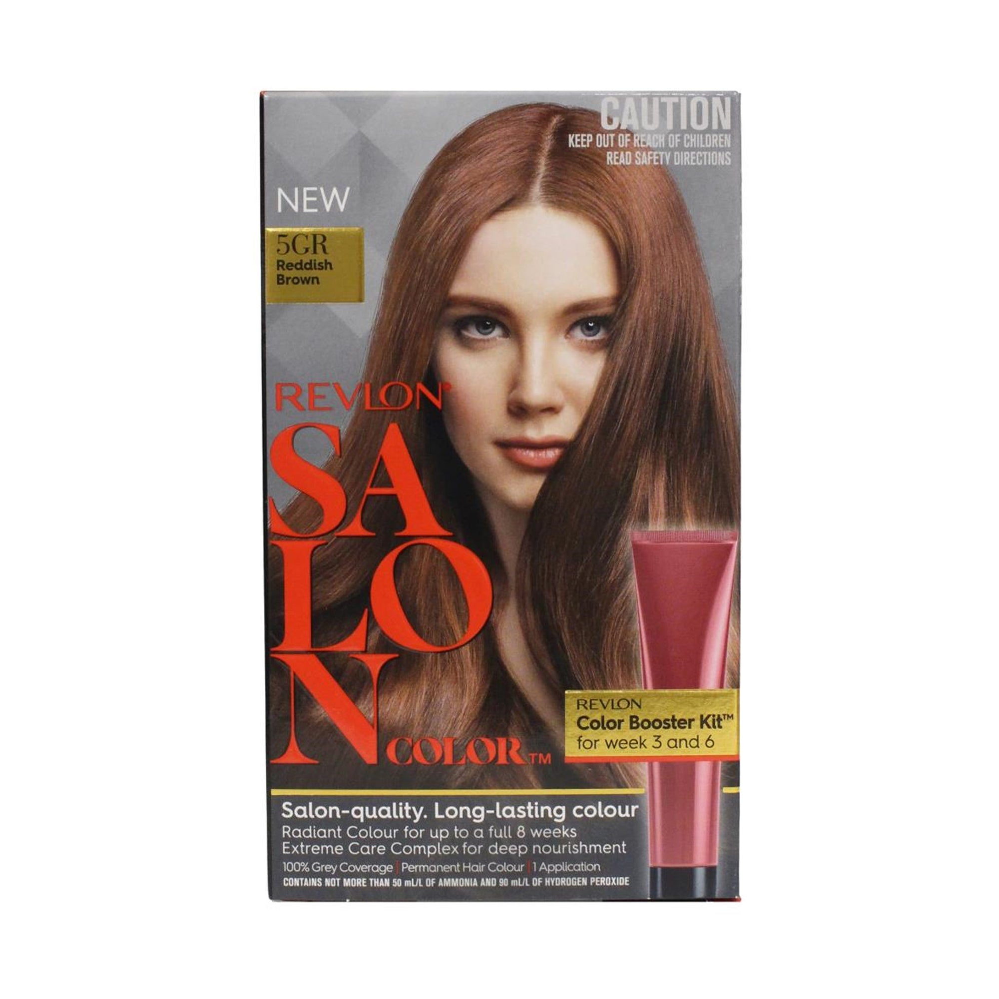 Revlon Salon Hair Color #5GR Reddish Brown