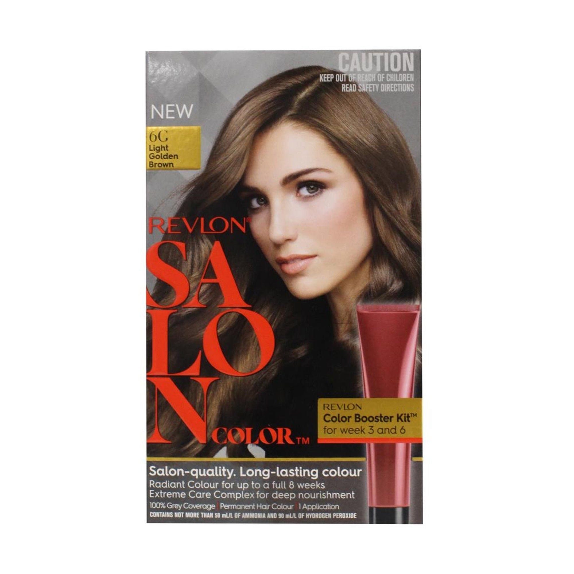 Revlon Salon Hair Color #6G Light Golden Brown