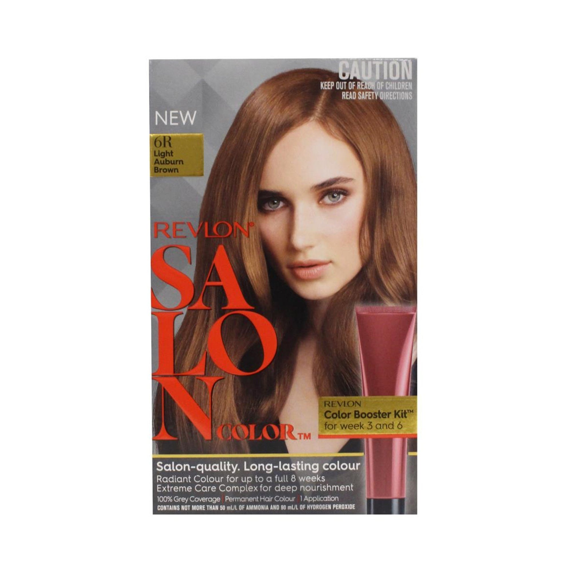Revlon Salon Hair Color #6T Light Auburn Brown