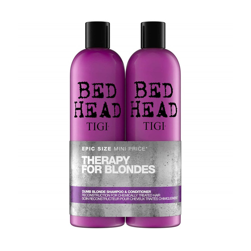 Tigi Bed Head Therapy for Blondes set 2X750ml