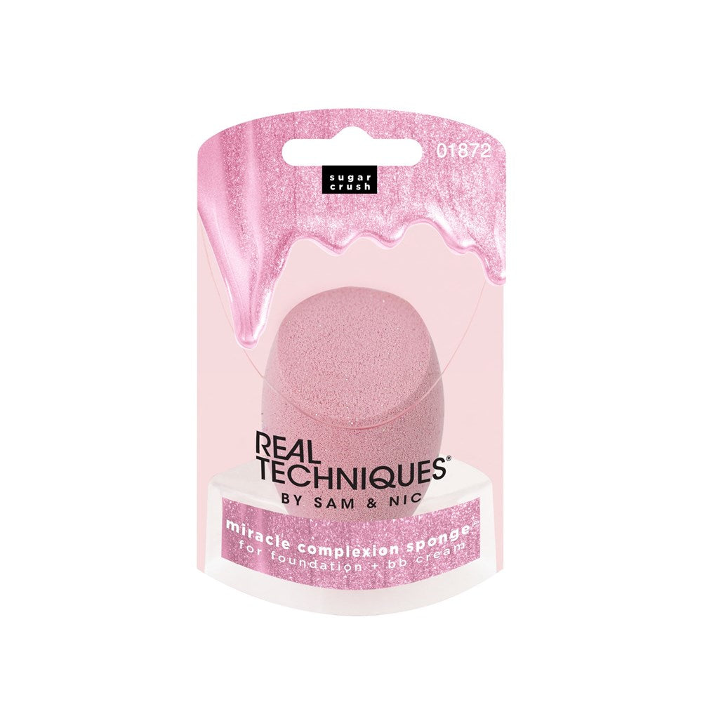 Real Techniques Sugar Crush Miracle Complexion Sponge- Pink