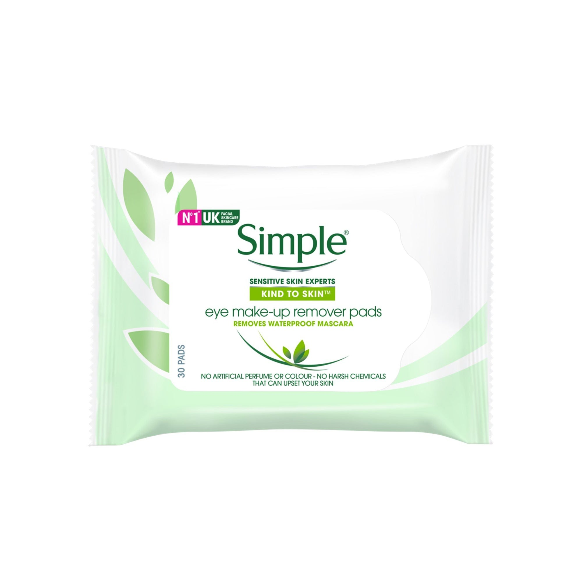 Simple Eye Makeup Remover Pads 30Pk