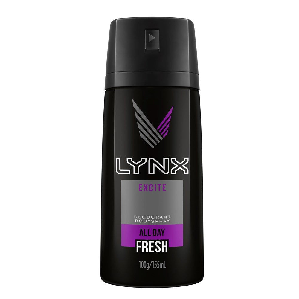 Lynx Body Spray Excite 155Ml