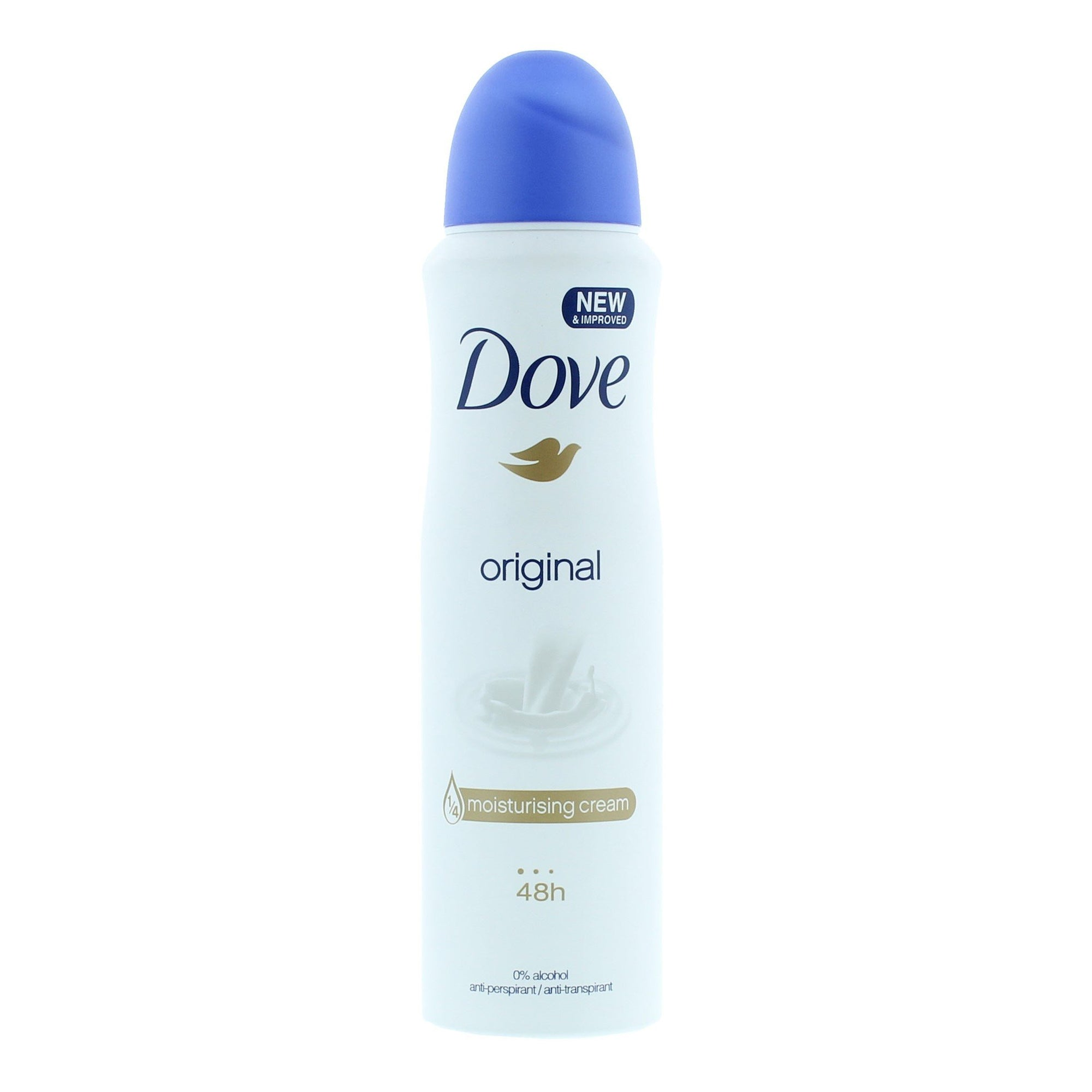 Dove Deodorant Spray Original 48hr with Vitamin E 150ml