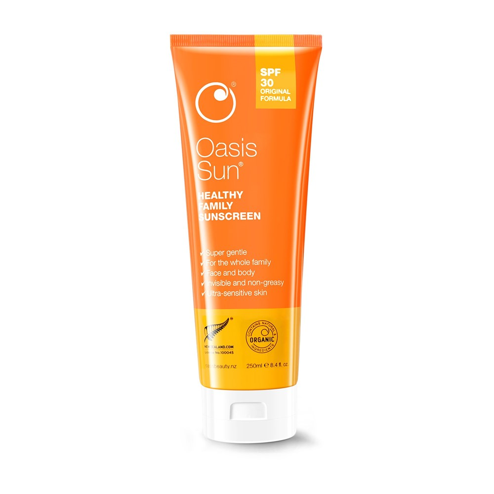Oasis Sun SPF30 Sunscreen 250ml Family Size