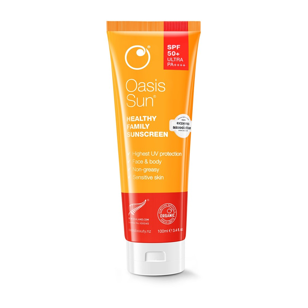 Oasis Sun SPF50+ Ultra Sunscreen 100ml