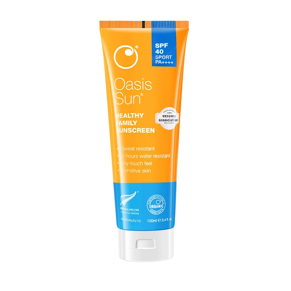 Oasis Sun SPF40 Dry-Feel Sport Sunscreen 100ml