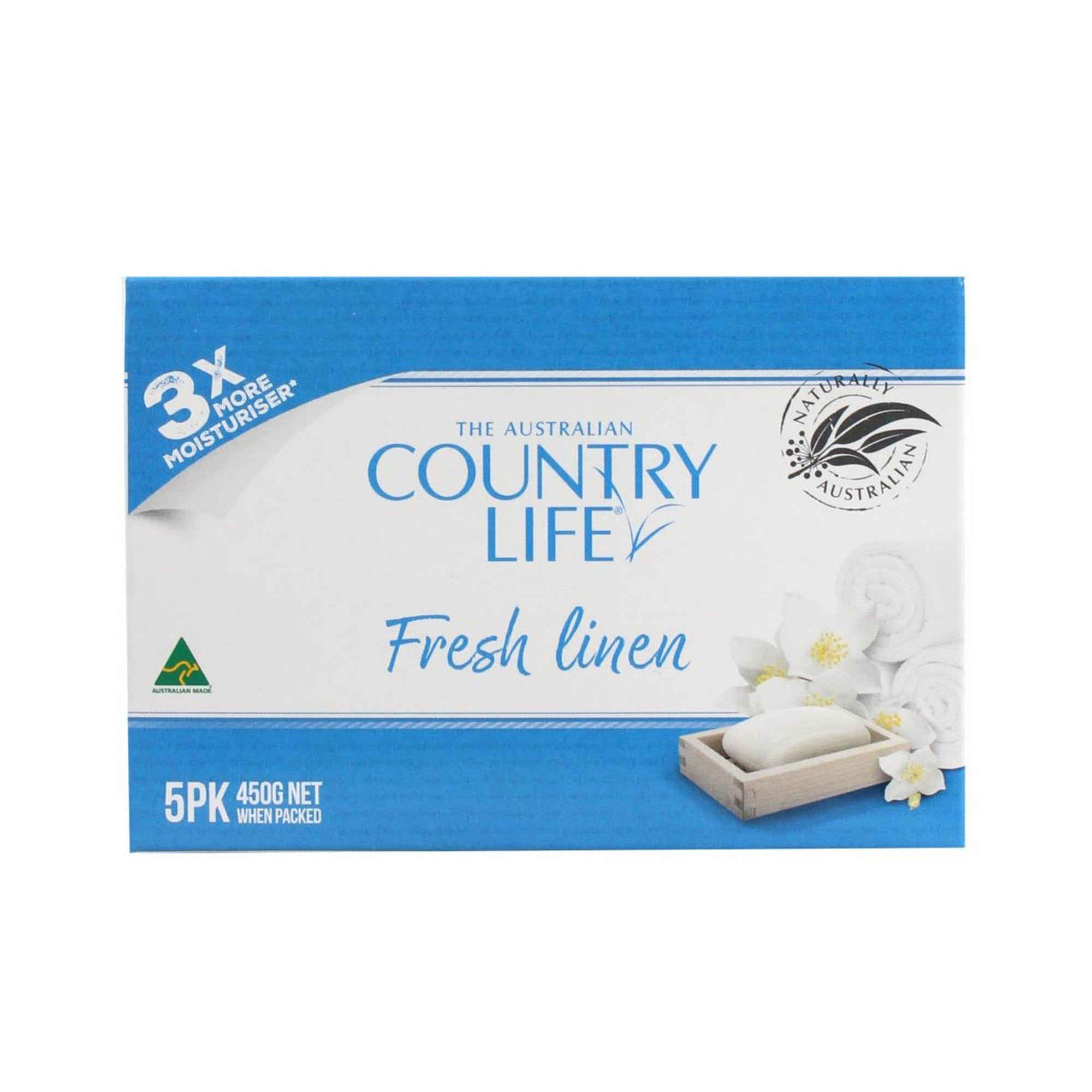Country Life Soap 5pk