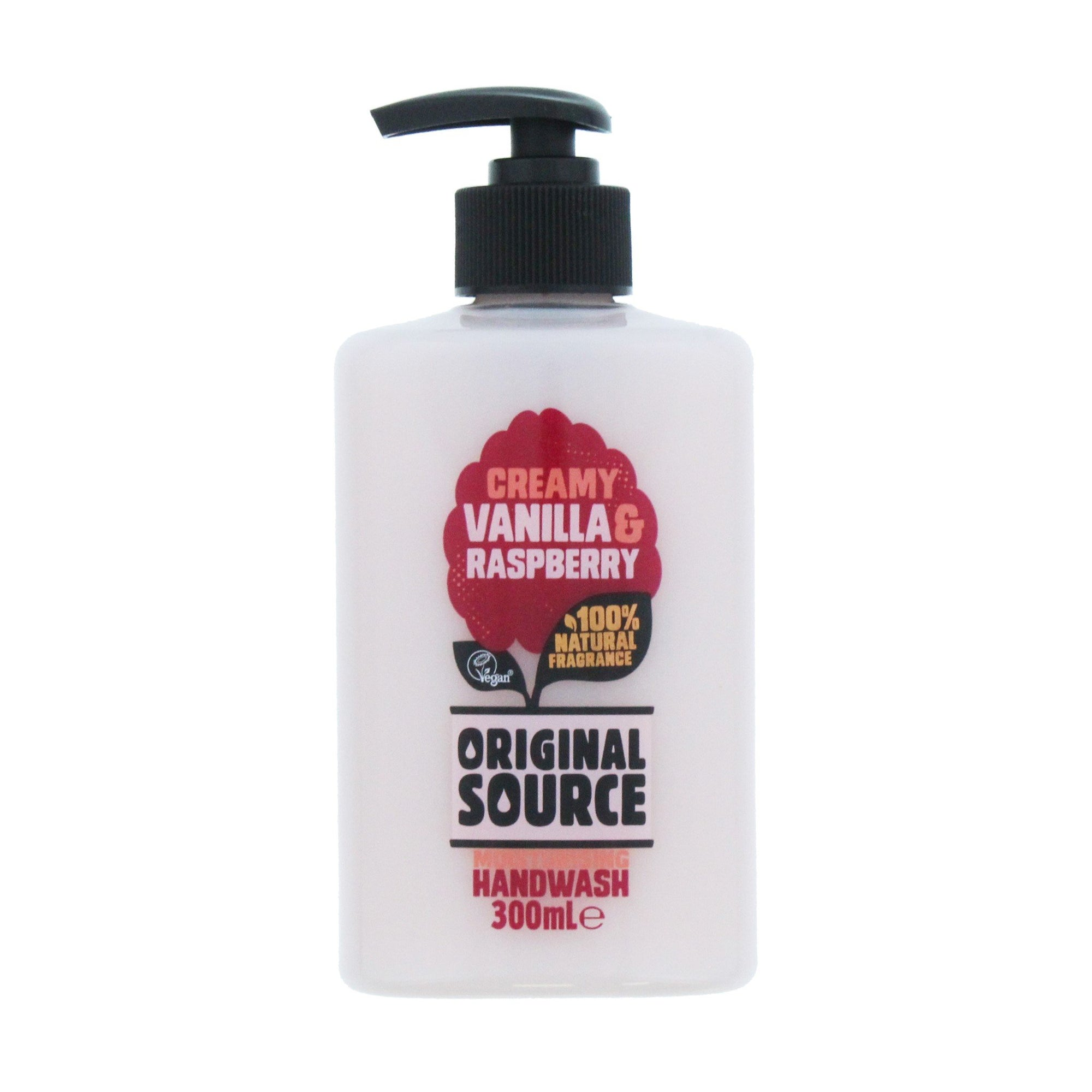 Original Source Handwash Vanilla & Raspberry 300ml