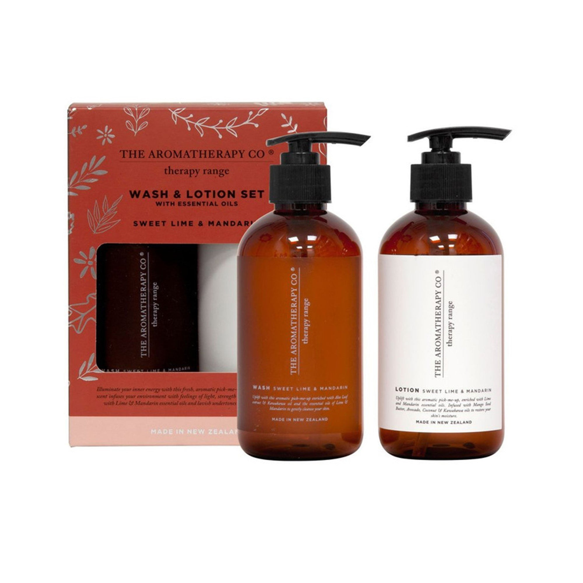 The Aromatherapy Co. Sweet Lime & Mandarin Wash & Lotion Set