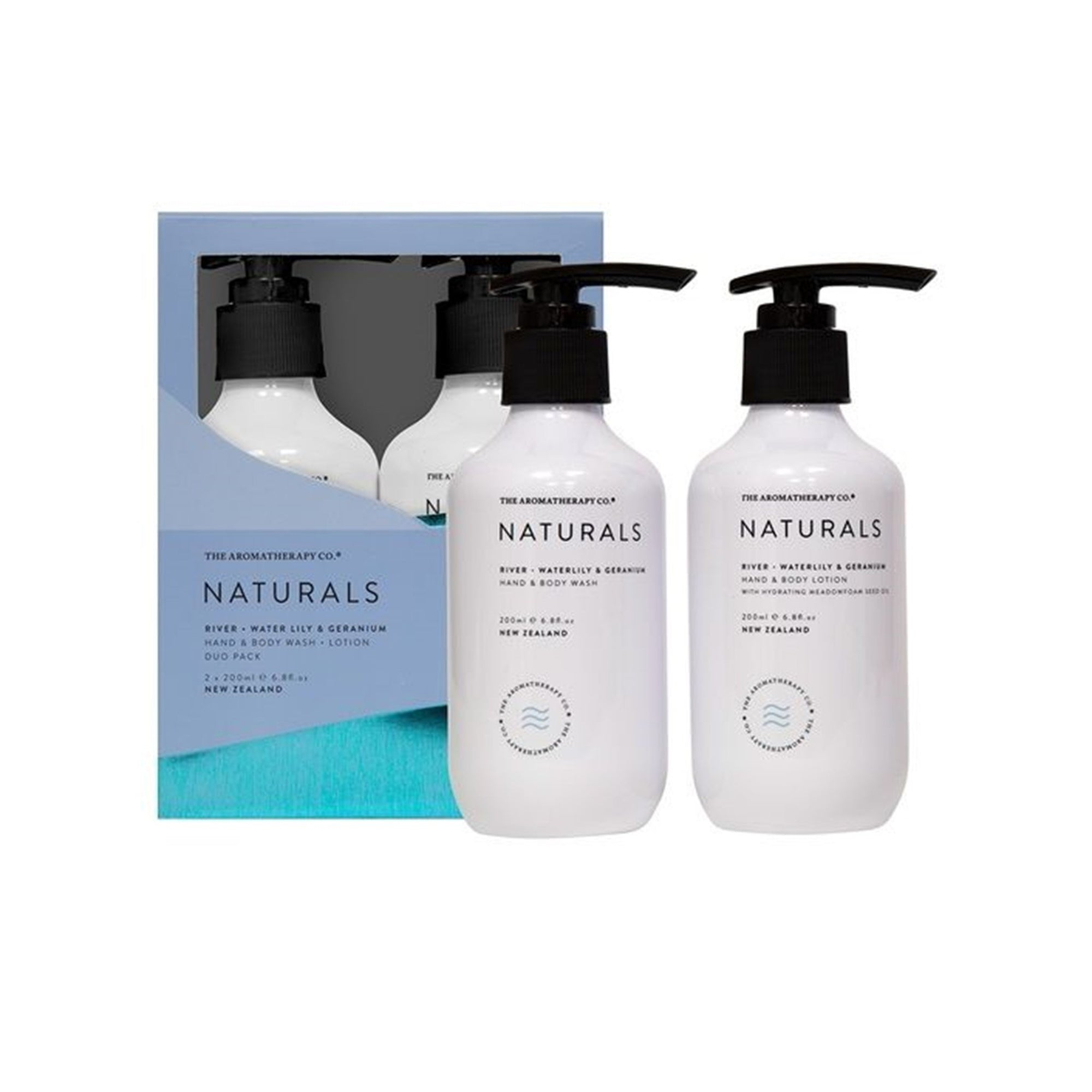 The Aromatherapy Co. Water Lily & Geranium Wash & Lotion Set
