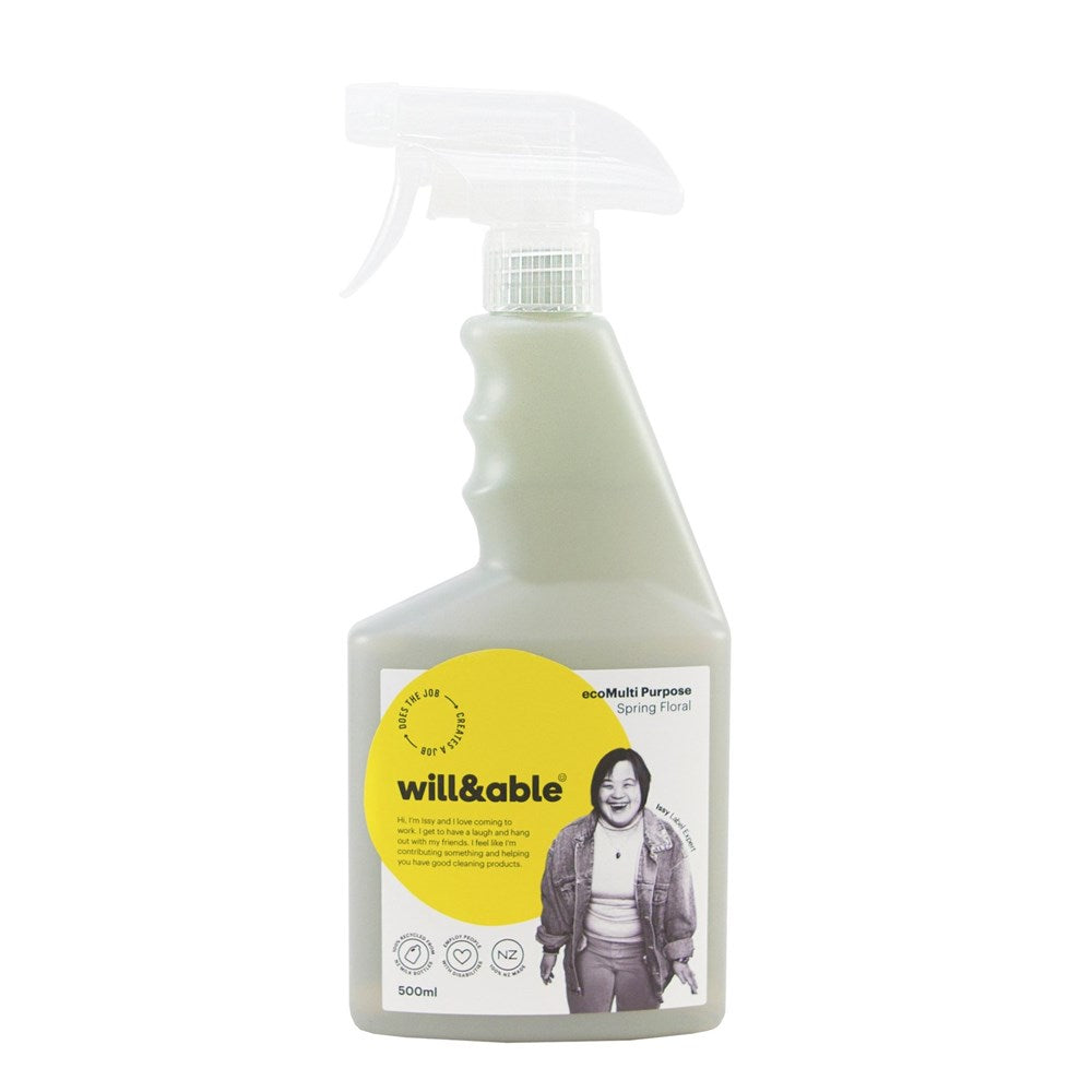Will&Able ecoMulti Purpose Cleaner Spring Floral 500ml