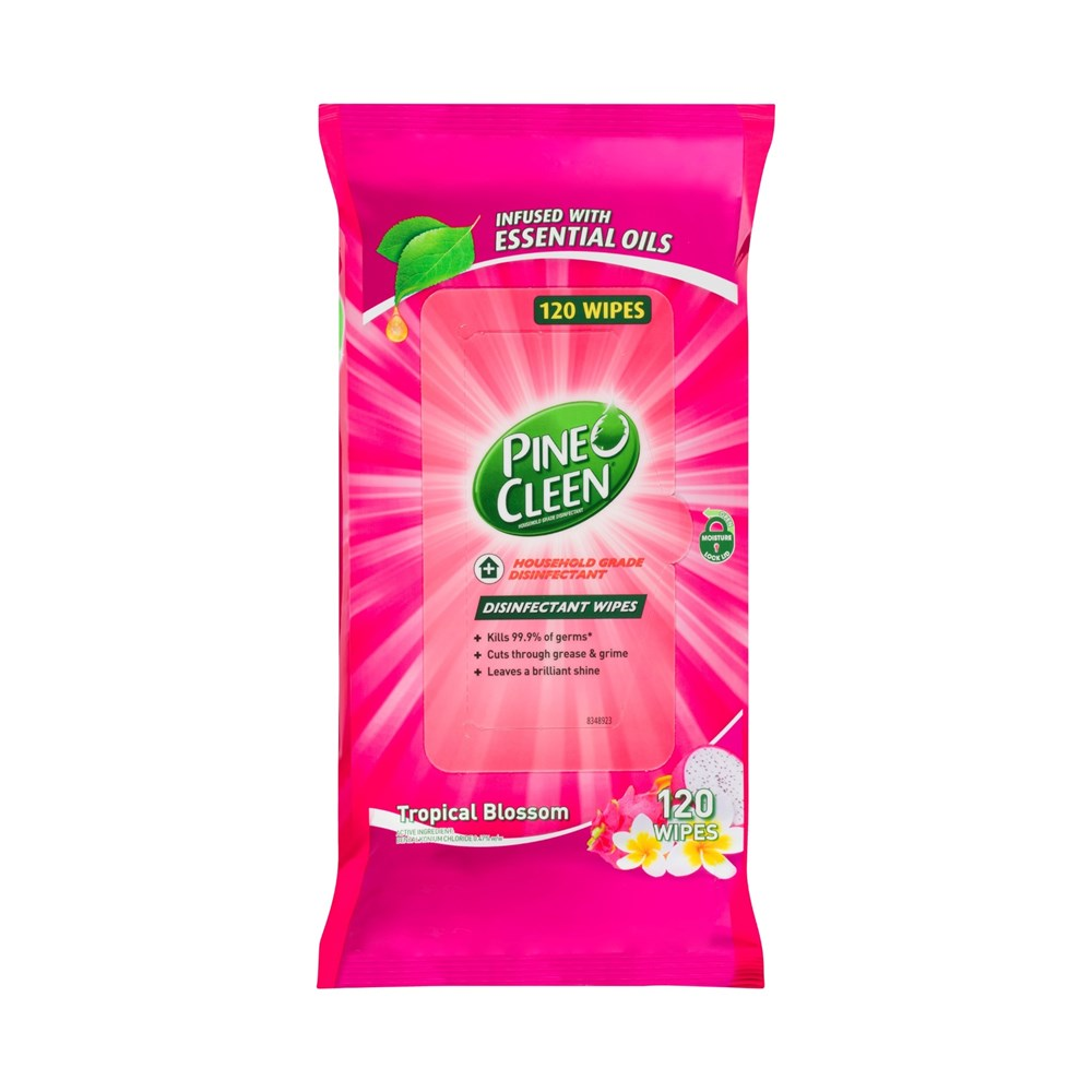 Pine O Cleen Disinfectant Surface Wipes Tropical