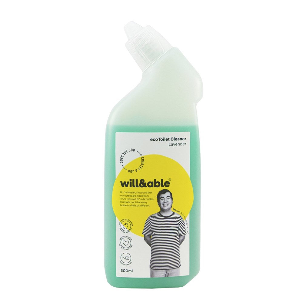 Will&Able ecoToilet Cleaner Lavender 500ml