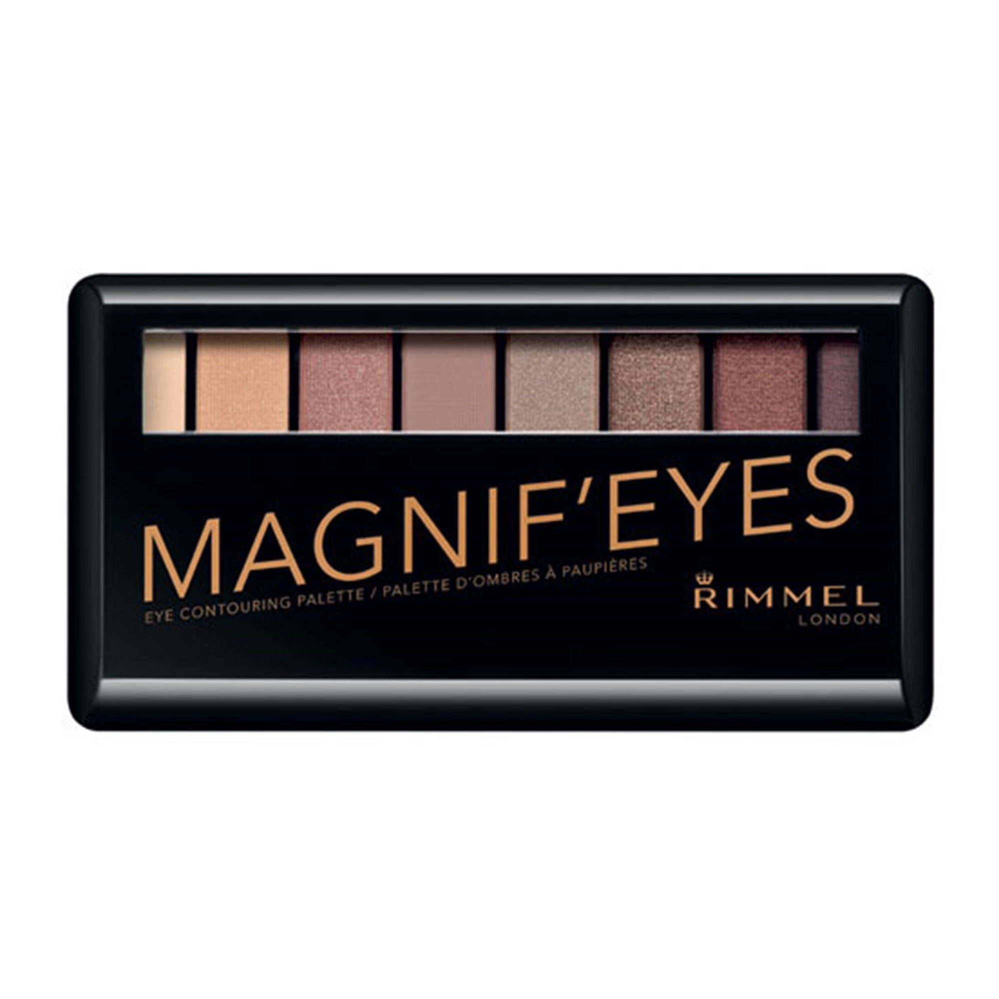 Rimmel London Magnif'eyes Eye Palette 001 Gold