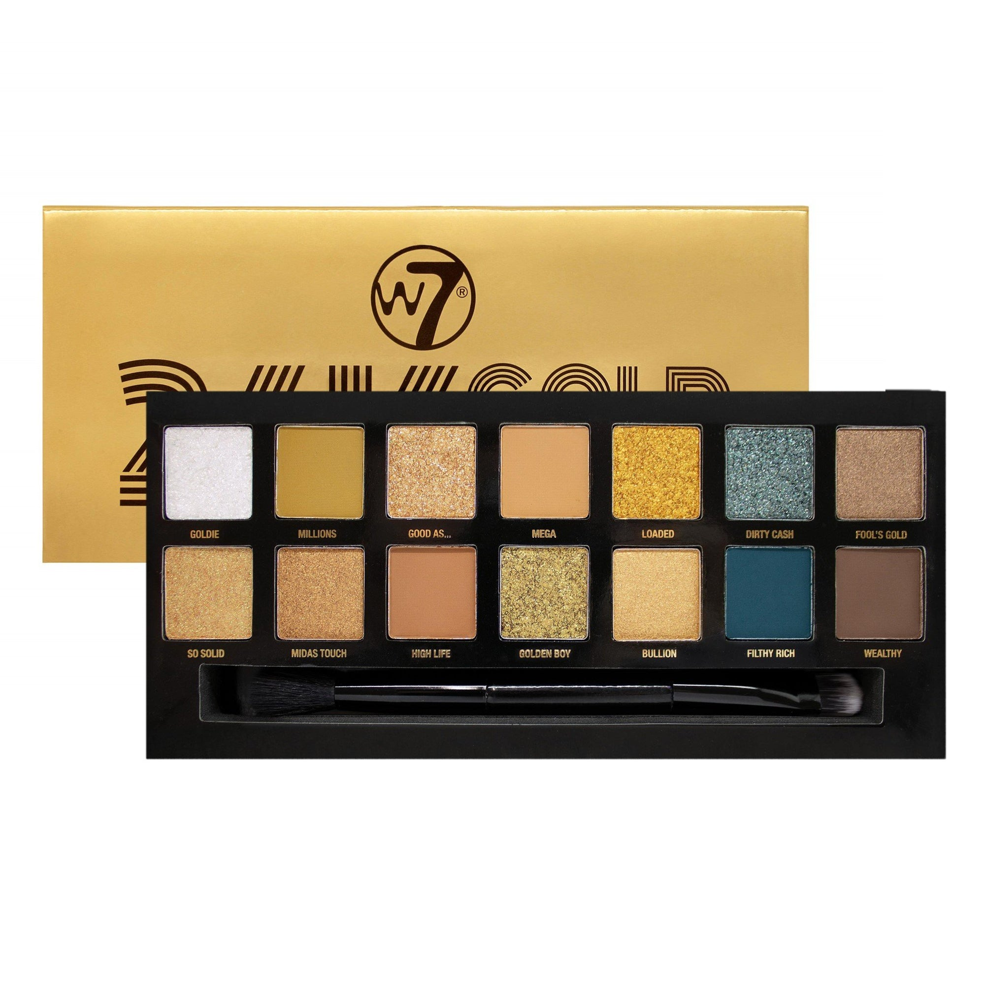 W7 24K Gold Rush Eyeshadow Palette