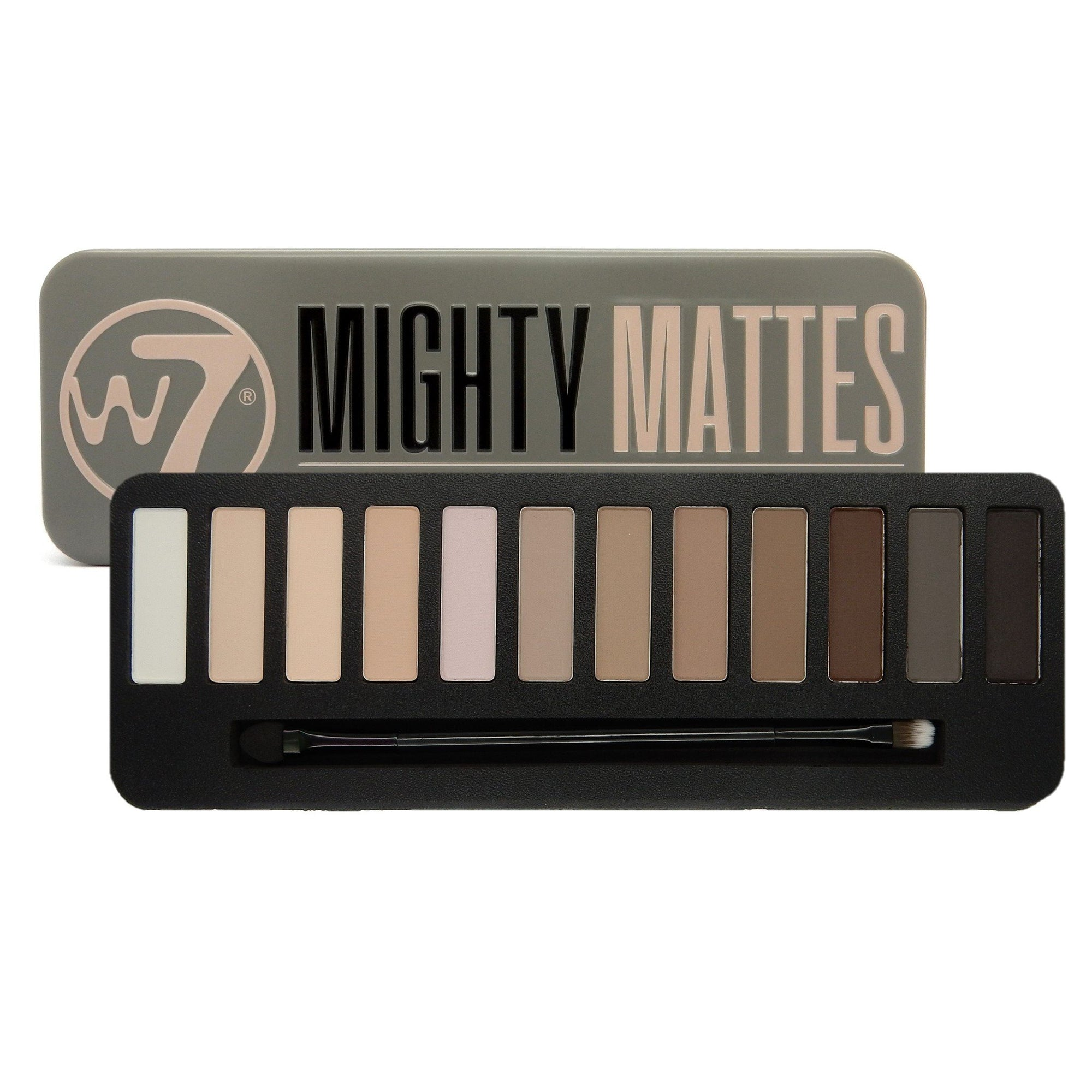 W7 Mighty Mattes Eyeshadow Palette