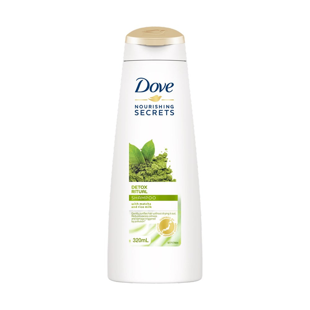 Dove Shampoo Detox Ritual With Matcha & Rice Milk 320ml