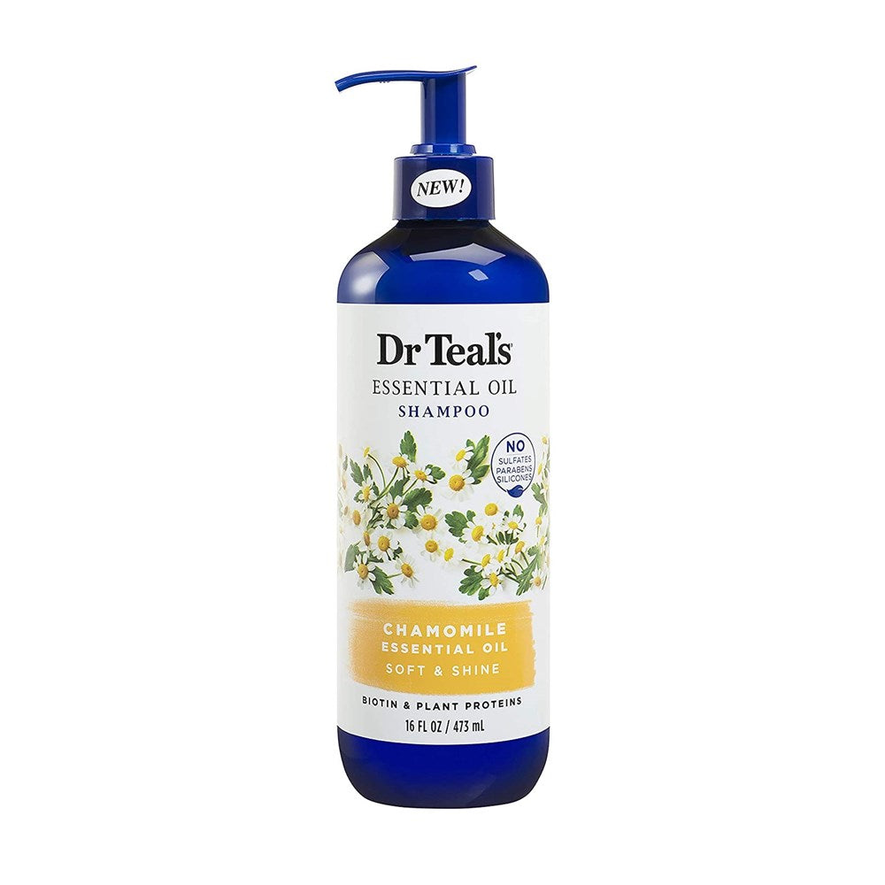 Dr Teal's  Chamomile Soft & Shine Shampoo 473ML