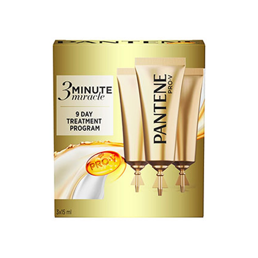 Pantene Pro V 3 Minute Miracle Treatment Gift Pack 3PK