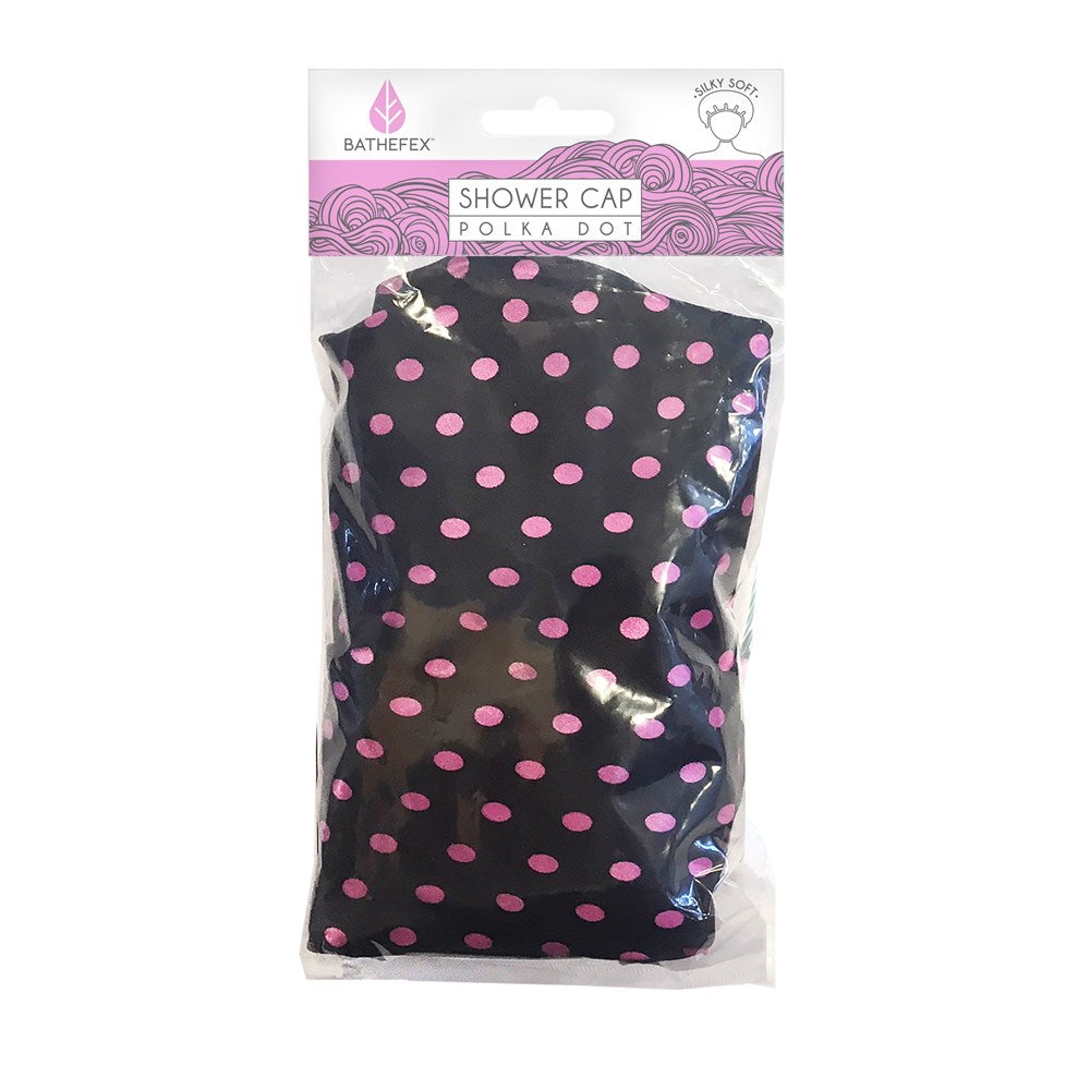 Bathefex Shower Cap Polka Dot